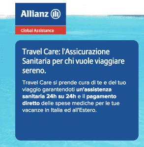 Allianz Travel Care Assicurazione sanitaria viaggio